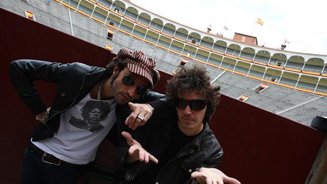 Leiva y Rubén, Pereza, en Las Ventas.
