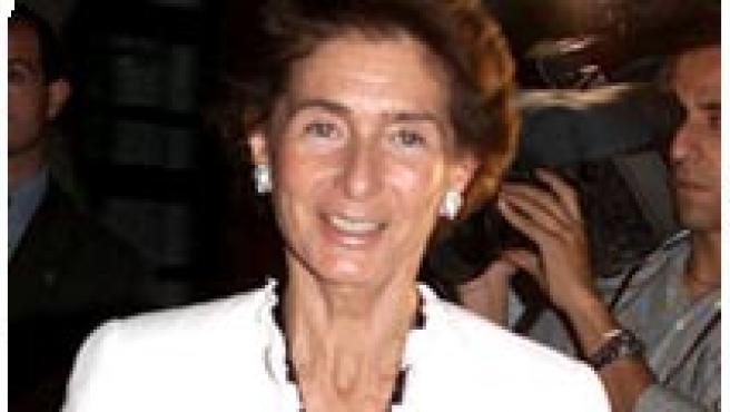 Margarita Salas, Antonio Fontán y Paloma O'Shea (de izda. a dcha.).