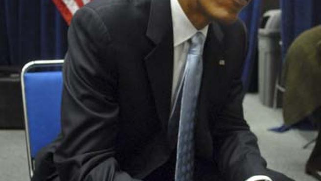 El candidato por el Partido Demócrata a la Presidencia de Estados Unidos, Barack Obama. (EFE)