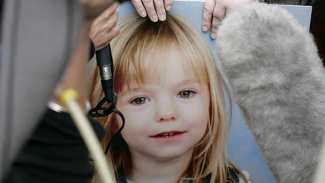 La niña desapareció el 3 de mayo en Praia da Luz.