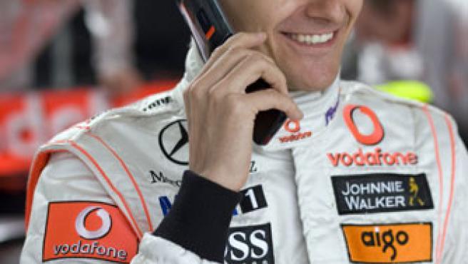 Kovalainen, del equipo Vodafone McLaren mercedes.