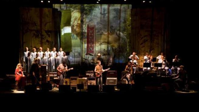 Lou Reed, en Berlín.