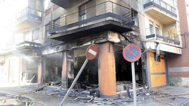 Trece personas resultaron intoxicadas leves (EFE).