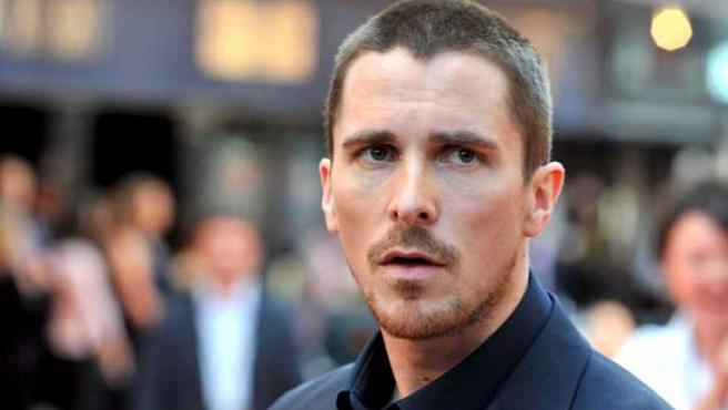 Christian Bale en el estreno en Londres de 'Batman.The Dark Knight'.