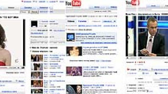 Algunos de los vídeos sobre programas de Telecinco que alojaba YouTube en su plataforma.