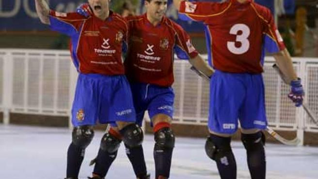 La selección española de hockey patines se ha proclamado campeona de Europa