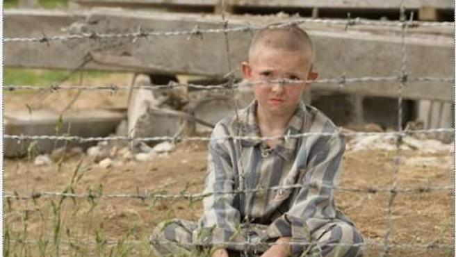 Fotograma de la película 'El niño con el pijama de rayas', basada en la novela de John Boyne y dirigida por Mark Herman.