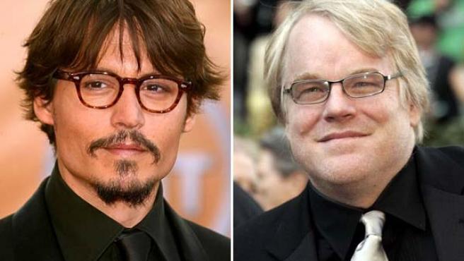 Johnny Depp y Philipp Seymour Hoffman, candidatos a villanos en el próximo Batman.