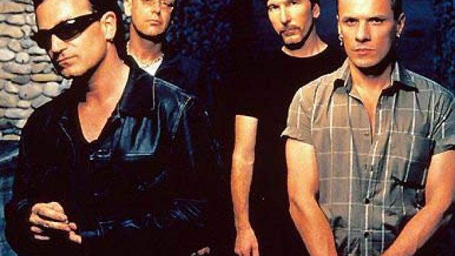 Bono, Adam Clayton, The Edge y Larry Mullen: los míticos U2. (ARCHIVO).