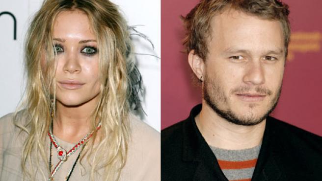 Mary Kate Olsen y Heath Ledger©KORPA