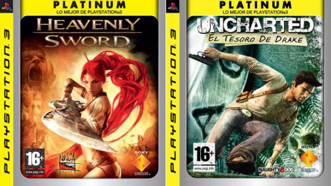 'Heavenly Sword' y 'Uncharted', dos de los juegos mejor valorados de PS3, serán más baratos.
