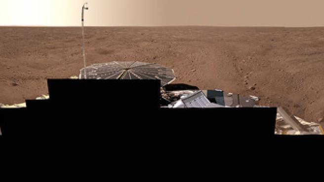 Una panorámica de 360 grados de la zona en la que se encuentra el Phoenix Mars Lander.. (Foto: REUTERS)