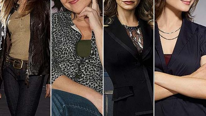 Holly Hunter, Carmen Machi, Kyra Sedgwick y Emily Erin Deschanel.