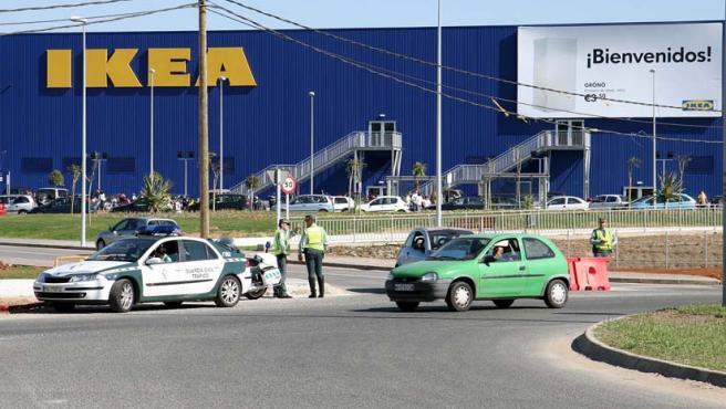 Uno de los centros que la compaía sueca de muebles tiene en España.