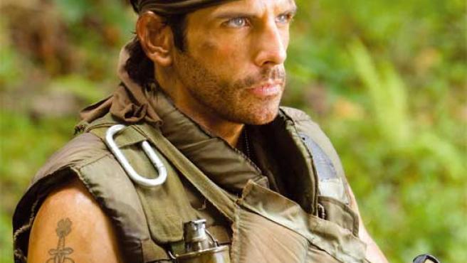 Ben Stiller, en 'Tropic Thunder'.
