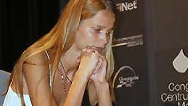 Carmen Kass jugará al ajedrez en Bilbao. (ARCHIVO).