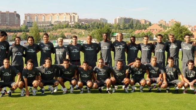 La plantilla del Valladolid para la temporada 08/09