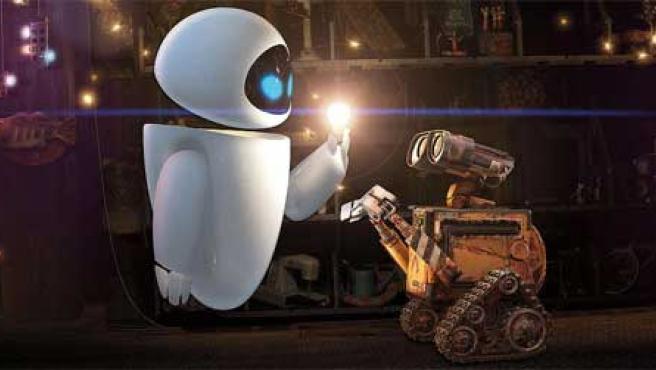 Imagen de 'Wall-E', de Pixar.
