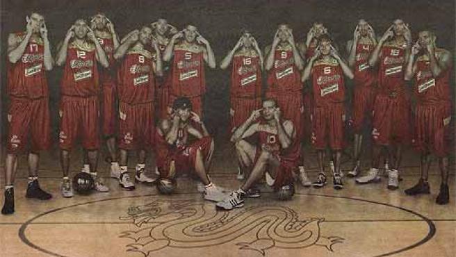 Fotografía publicada en The Guardian de la selección de baloncesto. (THE GUARDIAN)