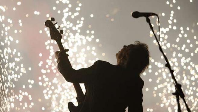 Roger Waters, durante uno de sus recitales en directo.
