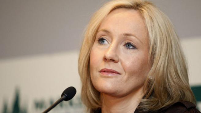 JK Rowling, autora de Harry Potter.