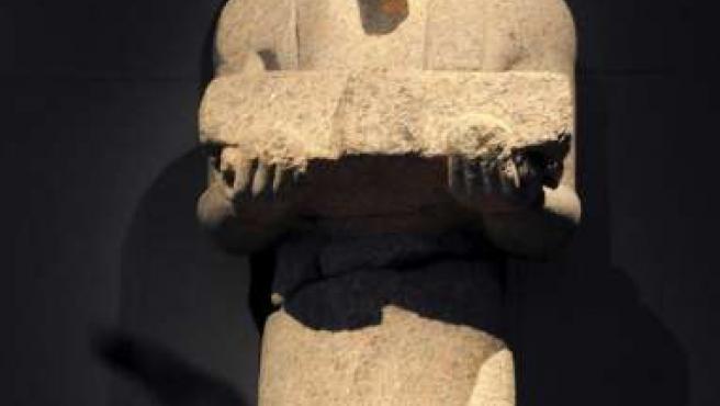 """Una imagen de la exposición """"Tesoros Sumergidos de Egipto""""."""