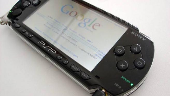 Una de las consolas portátiles de Sony