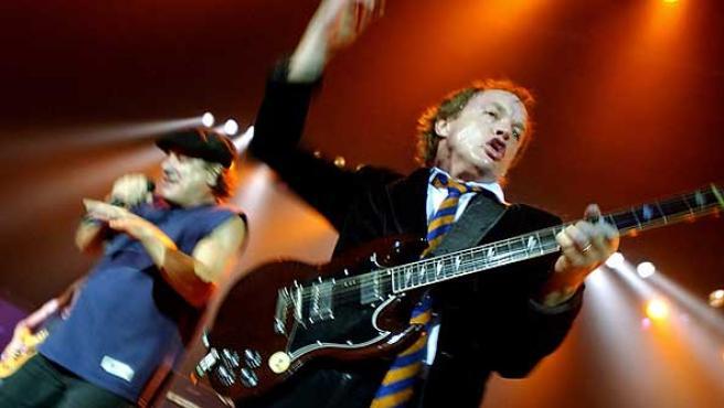 La banda AC/DC en una imagen de archivo.