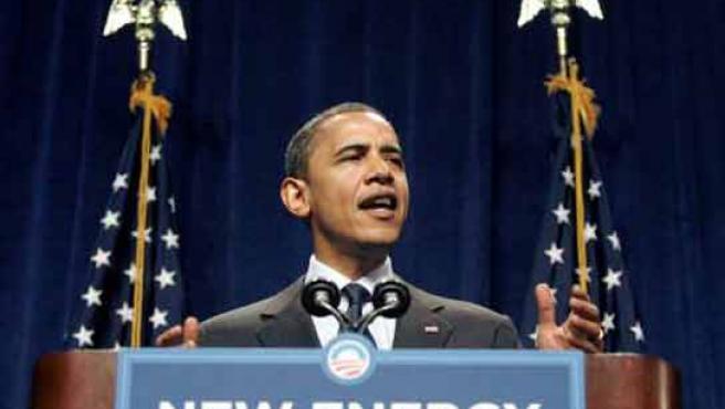 Barack Obama, durante un mítin electoral en Michigan (FOTO: REUTERS