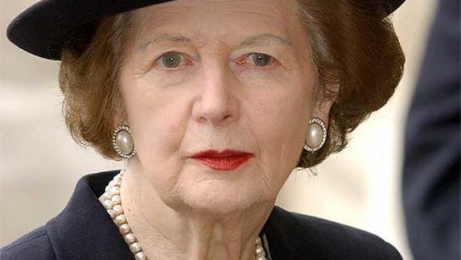 La 'Dama de Hierro', Margaret Thatcher.
