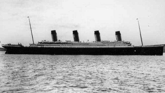 Una fotografía del histórico y malogrado 'Titanic'.