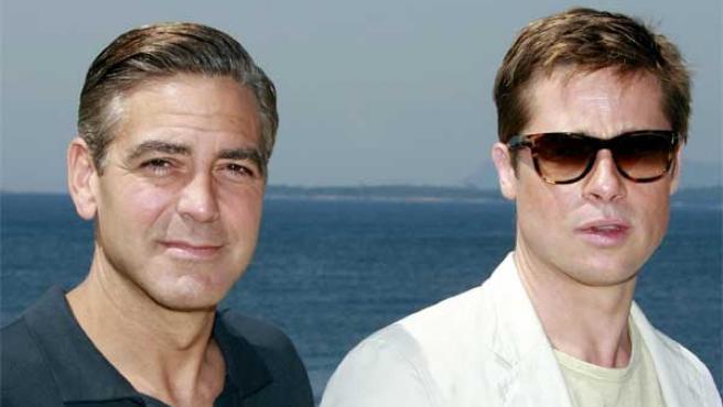 George Clooney y Brad Pitt estarán en Venecia.