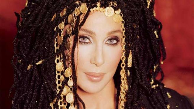 La cantante y actriz Cher.