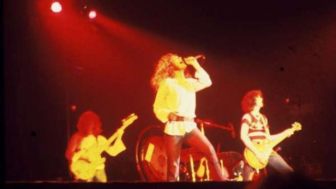 Led Zeppelin en una imagen de archivo.