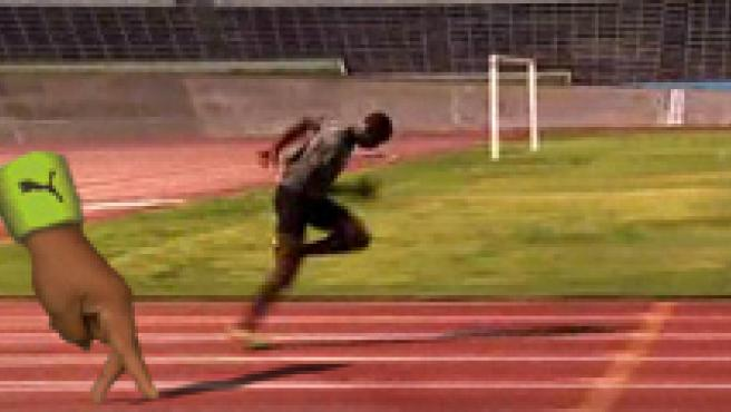 Compite con Usain Bolt. (PUMA)
