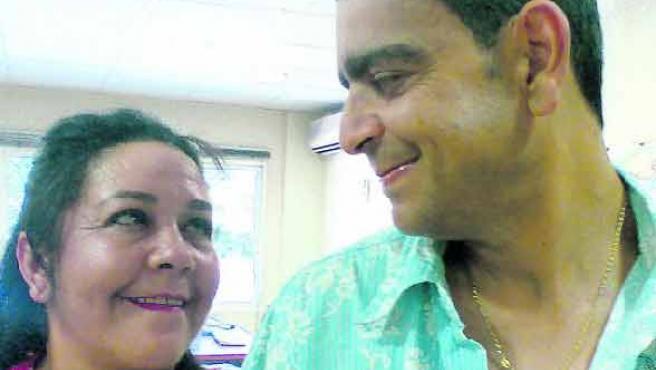 Mª Teresa Airoldi y J. J. Córdoba. (T.C.)