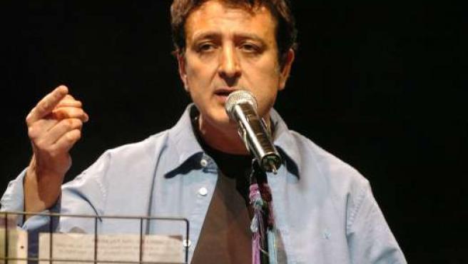 Manolo García, en una actuación. (ARCHIVO).