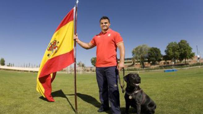 David Casinos, el abanderado paralímpico español. (www.paralimpicos.es)