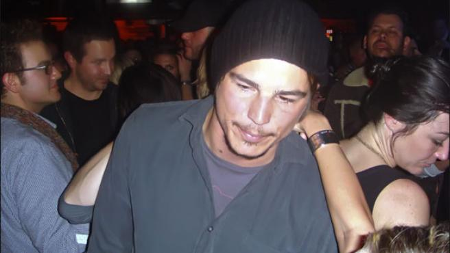 Josh Hartnett, fotografiado en una discoteca de Sundance el invierno pasado (KORPA).