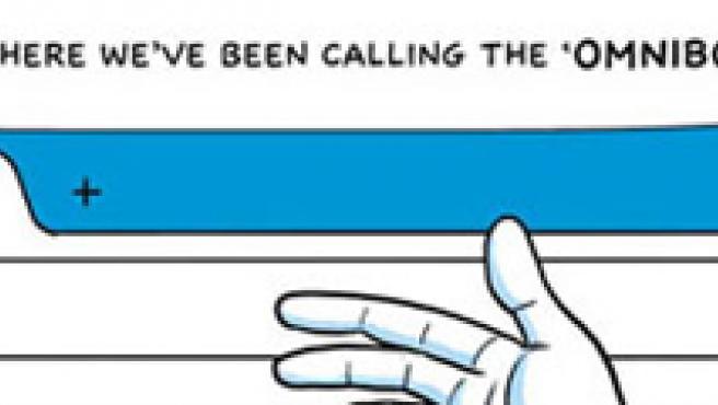 Comic promocional del navegador.