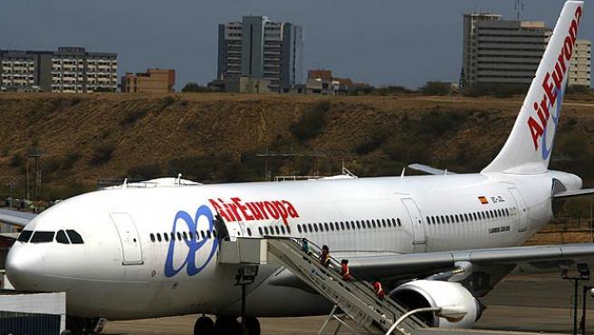 Imagen de archivo de un avión de Air Europa.