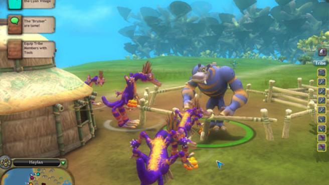 Las relaciones sociales entre criaturas son fundamentales en 'Spore'.