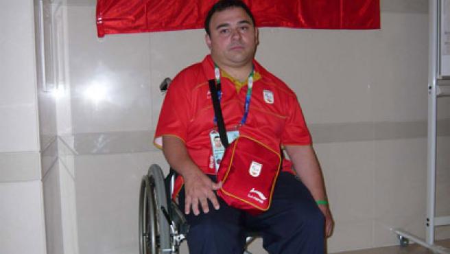 Manuel Martín, jugador de boccia. (CPE)