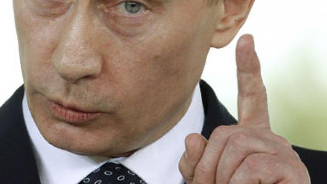 Vladimir Putin en Porto Rotondo (Italia).