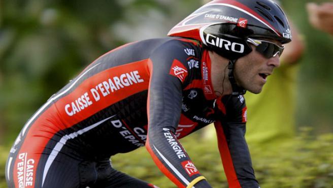 Alejandro Valverde, en la Vuelta a España. (EFE)