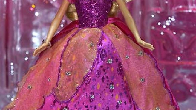 La Barbie más cara del mundo fue presentada en México. (Mario Guzmán / EFE).