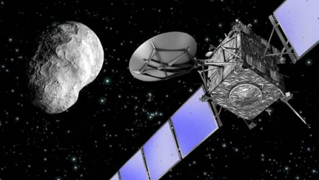La sonda Rosetta pasará por el pasado por el asteroide Steins y antes de llegar a su destino final, el cometa Churiumov-Gerasimenko.