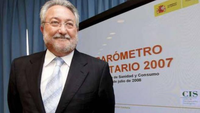 El ministro de Sanidad y Consumo, Bernat Soria (FOTO: ARCHIVO)