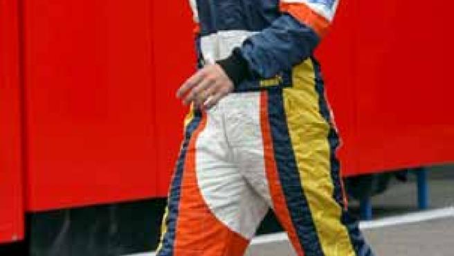 Alonso, en Bélgica (Agencias).