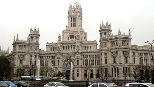 El Palacio de Cibeles, sede de la Alcaldía de Madrid. (ARCHIVO)